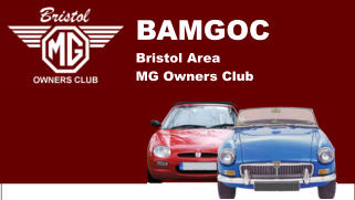 BAMGOC Bristol Area  MG Owners Club